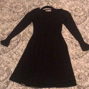 Abercrombie fetch New York xs plain black dress